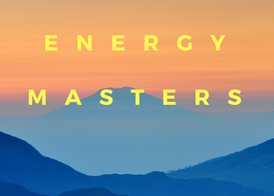 Energy Masters upcoming event